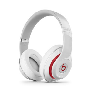 Beats by Dr. Dre Studio 2 Wireless Noise Cancelling Headphones - White/Red Trim