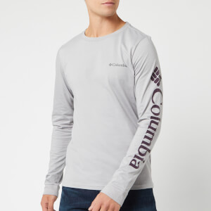 Columbia Men's Columbia Lodge Long Sleeve T-Shirt - Columbia Grey