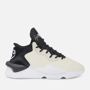 Y-3 Men's Kaiwa Trainers - Core White/Black Y3