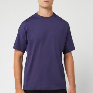 Y-3 Men's Classic Crew Short Sleeve T-Shirt - Yohji Blue