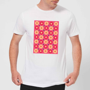 FLORAL PATTERN Men's T-Shirt - White