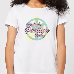 Radiate Positive Vibes Women's T-Shirt - White