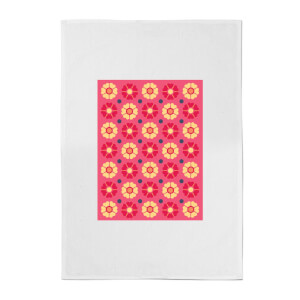 FLORAL PATTERN Cotton Tea Towel