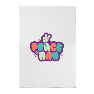 Peace Man Cotton Tea Towel