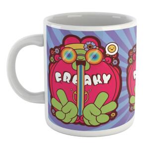 Hippie Psychedelic Cartoon Mug