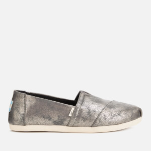TOMS Women's Alpargata Slip-On Pumps - Dark Grey