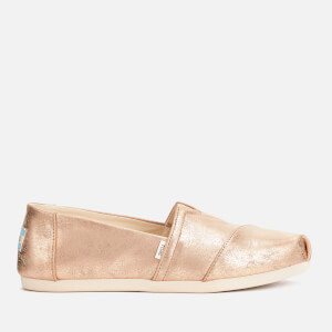 TOMS Women's Alpargata Slip-On Pumps - Gold