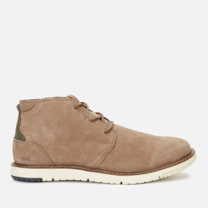 TOMS Men's Navi Leather Chukka Boots - Brown