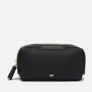Anya Hindmarch Women's Girlie Stuff Nylon Cosmetics Case - Black