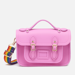 The Cambridge Satchel Company Women's Mini Satchel - Violet/Rainbow