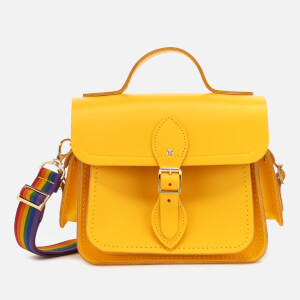The Cambridge Satchel Company Women's Traveller Bag with Side Pockets - Spectra Yellow/Rainbow