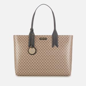 Emporio Armani Women's Shopper Bag - Ecru/Black