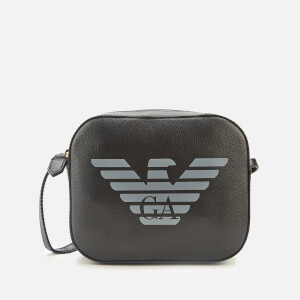 Emporio Armani Women's Eagle Shoulder Tote Bag - Black