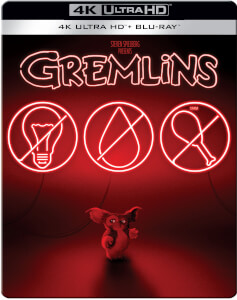 Gremlins - 4K Ultra HD (Includes 2D Blu-ray) Zavvi Exclusive Steelbook