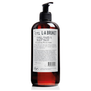 L:A BRUKET Wild Rose Hand and Body Wash 450ml