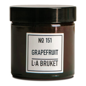 L:A BRUKET Small Grapefruit Scented Candle 50g