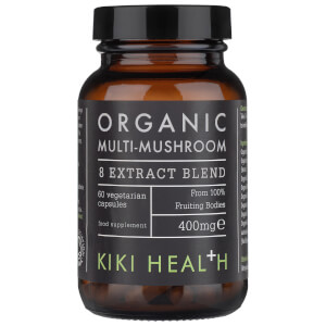 KIKI Health Organic Multi-Mushroom 8 Extract Blend (60 Vegicaps)