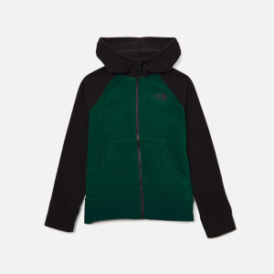 The North Face Boys' Glacier Full Zip Hoody - Night Green