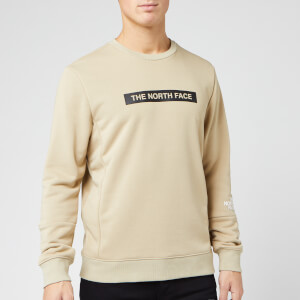 The North Face Men's Light Crew Neck Sweatshirt - Twill Beige
