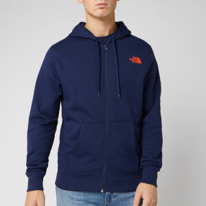 The North Face Men's Open Gate Full Zip Hoody - Montague Blue