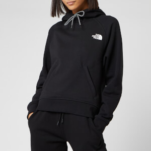 The North Face Women's NSE Graphic Pull Over Hoody - TNF Black
