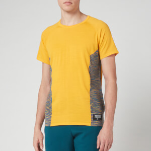 adidas X Missoni Men's C.R.U Short Sleeve T-Shirt - Active Gold/ Tech Mineral
