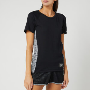 adidas X Missoni Women's C.R.U Short Sleeve T-Shirt - Black/Dark Grey/White