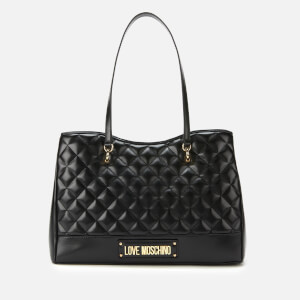 Love Moschino Women's Quilted Shopper Bag - Black