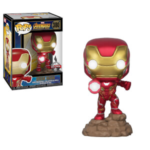 Marvel Avengers: Infinity War Iron Man (Light Up) EXC Pop! Vinyl Figure