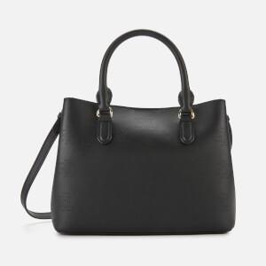 Lauren Ralph Lauren Women's Dryden Marcy Mini Satchel - Black/Taupe