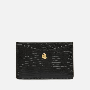 Lauren Ralph Lauren Women's Elmswood Slim Card Case - Black