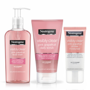 Neutrogena® Pink Grapefruit® 3-Step Facial Regime