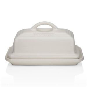 Le Creuset Stoneware Butter Dish - Almond