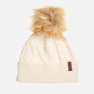 Superdry Women's Lannah Cable Beanie - Winter Marl