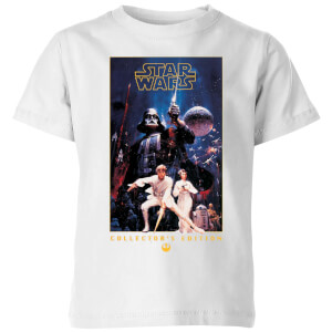Star Wars Collector's Edition Kids' T-Shirt - White