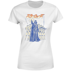 Star Wars Kana Force Choke Women's T-Shirt - White