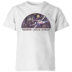 Star Wars X-Wing Italian Kids' T-Shirt - White