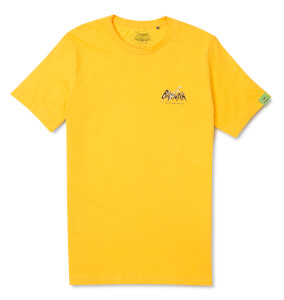 Batman Surf Logo Gotham Point T-Shirt - Yellow