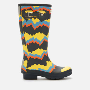 Hunter Kids' Original Storm Stripe Boots - Navy