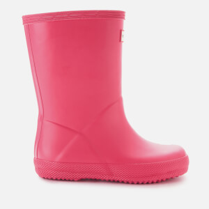 Hunter Toddlers' First Classic Wellies - Bright Pink