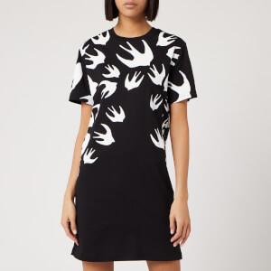 McQ Alexander McQueen Women's T-Shirt Dress - Darkest Black