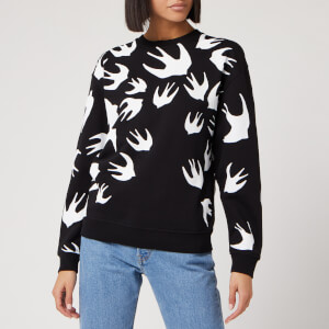 McQ Alexander McQueen Women's Classic Sweatshirt - Darkest Black
