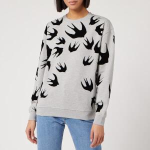 McQ Alexander McQueen Women's Classic Sweatshirt - Mercury Melange