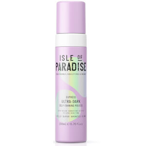 Isle of Paradise Express Self-Tanning Mousse - Ultra-Dark 200ml