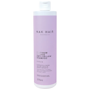 NAK Platinum Blonde Anti-Yellow Shampoo 375ml