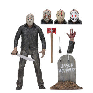 "NECA Friday the 13th - 7"" Action Figure - Ultimate Part 5 Jason"