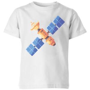 Satellite Kids' T-Shirt - White