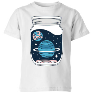Space Jar Kids' T-Shirt - White