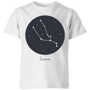 Taurus Kids' T-Shirt - White