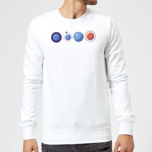 Planets Sweatshirt - White